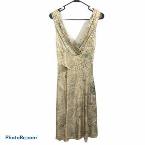 Diane Von Furstenberg Silk Sleeveless Dress size 4
